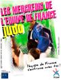 AFFICHE EQUIPE MERCREDIS DE L'EQUIPE DE FRANCE DE JUDO