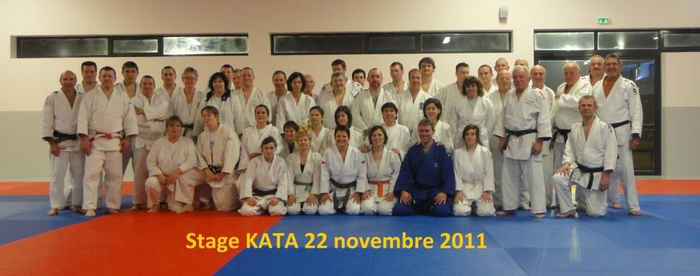 Stage KATA 22 novembre 2011