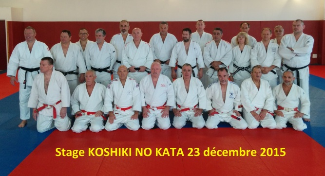 Stage KOSHIKI 23 décembre 2015