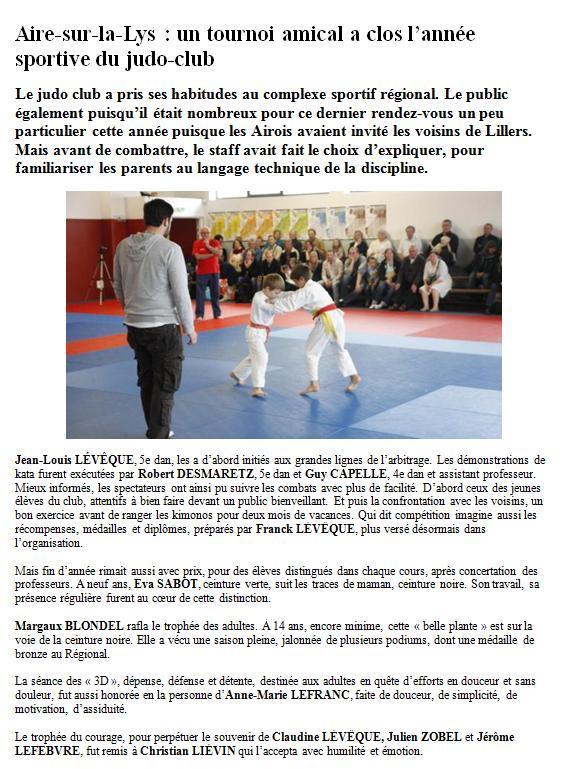 Tournoi de judo 29 06 2013